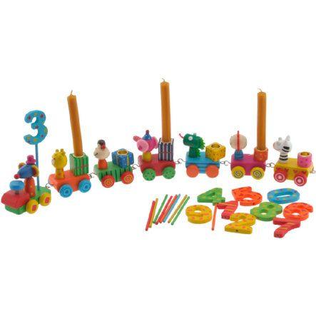 BIECO Geburtstagszug (ohne Kerzen) bei babymarkt.de - Ab 20 € versandkostenfrei ✓ Schnelle Lieferung ✓ Jetzt bequem online kaufen!