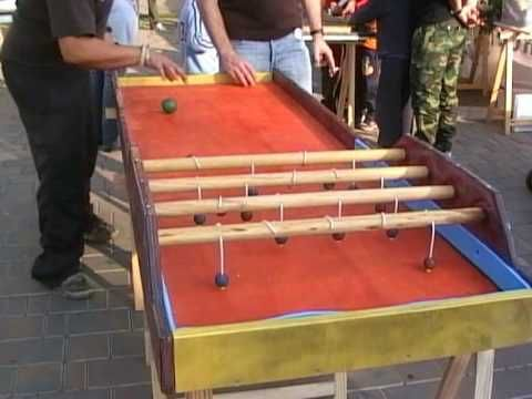 17 best images about tabels outdoors games on pinterest - Fabriquer table picnic ...