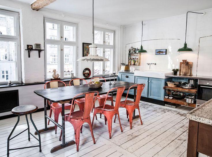 La maison de Leif Thingtved, un ancien atelier rénové avec passion |
