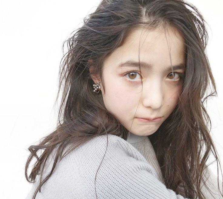 【面長・丸顔別】モテ髪NO.1♡黒髪×ロング×パーマのヘアカタ特集   HAIR