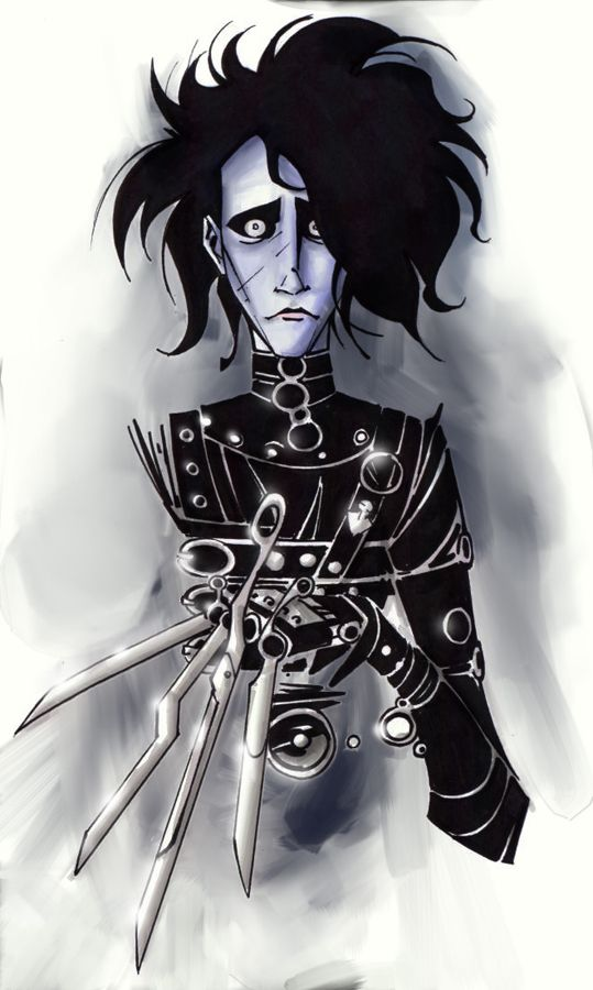 edward scissorhands admirable characters Edward scissorhands and corpse bride what emotions do you feel when you watch movies have you ever watched a movie and forgot that the character wasn't real.
