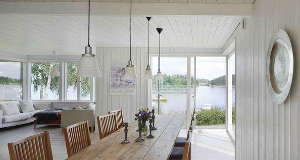 Bellevue är våra mest klassiska sommarnöjen. Skapade ur svensk byggnadstradition av trähusmästaren Anders Landström. Med former som kommer att stå sig i många år.