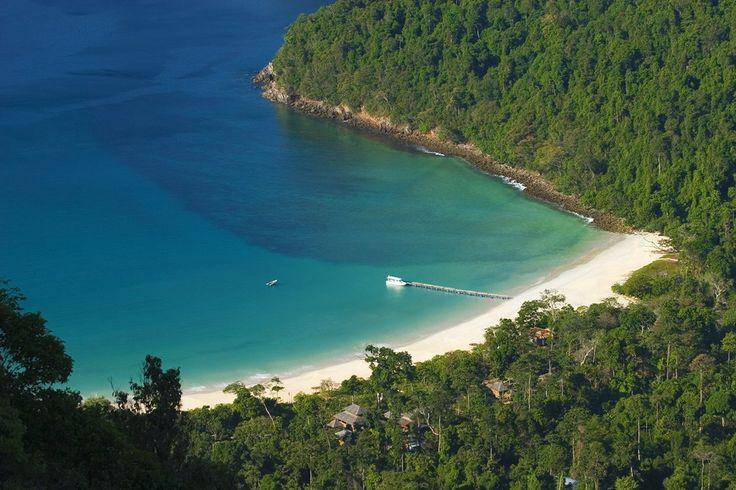 macleod island beach in Myanmar
