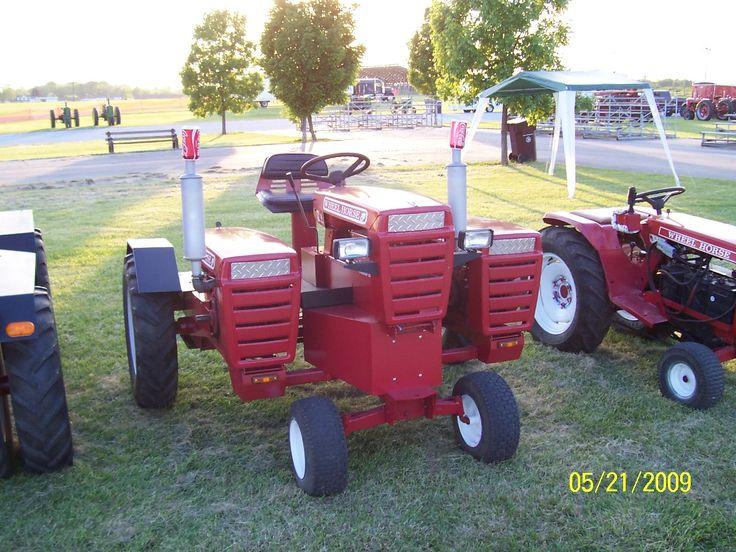 Custom Garden Tractor Wheels : Best images about lawn tractors on pinterest gardens