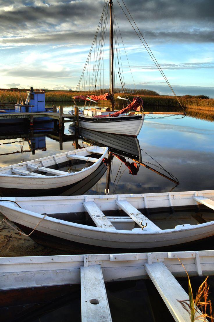 Boats   Ringkobing Fjord!