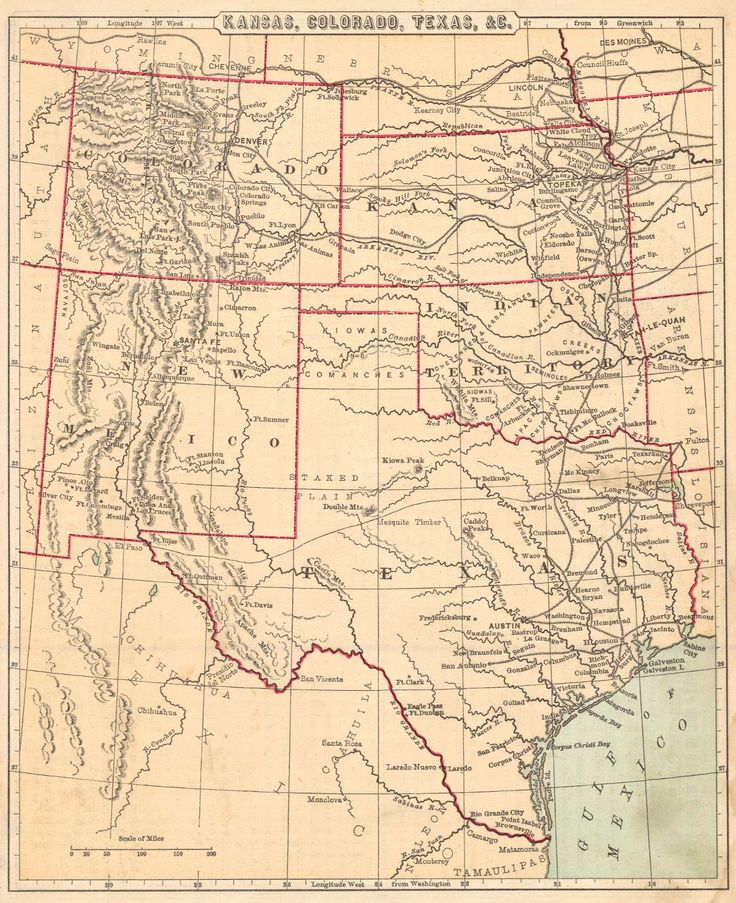 29 Best Colorado Images On Pinterest Maps And Fall Season: Colorado And Kansas County Map At Usa Maps
