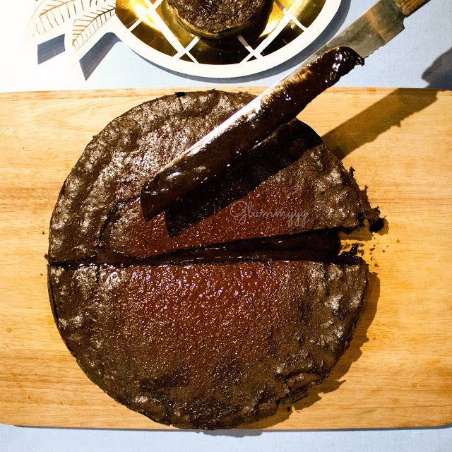 glummyyy - se régaler sans gluten !: tarte soufflée au chocolat de