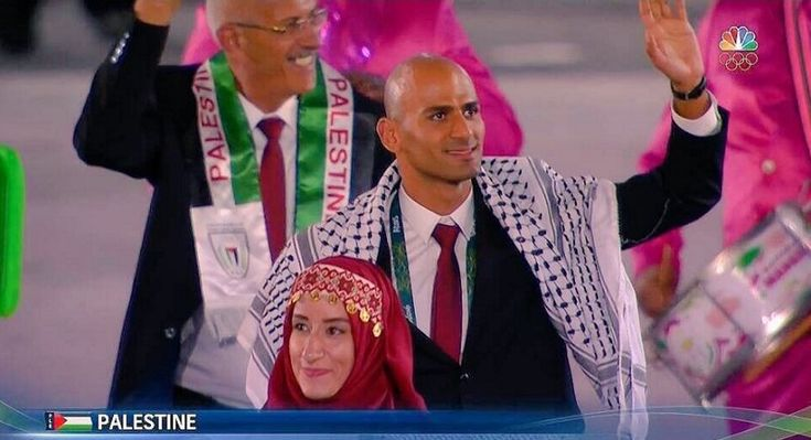 Team Palestine Finally Got to Raise Their Flag at the Olympics