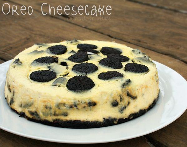 Cocinando en Marte: Oreo cheesecake