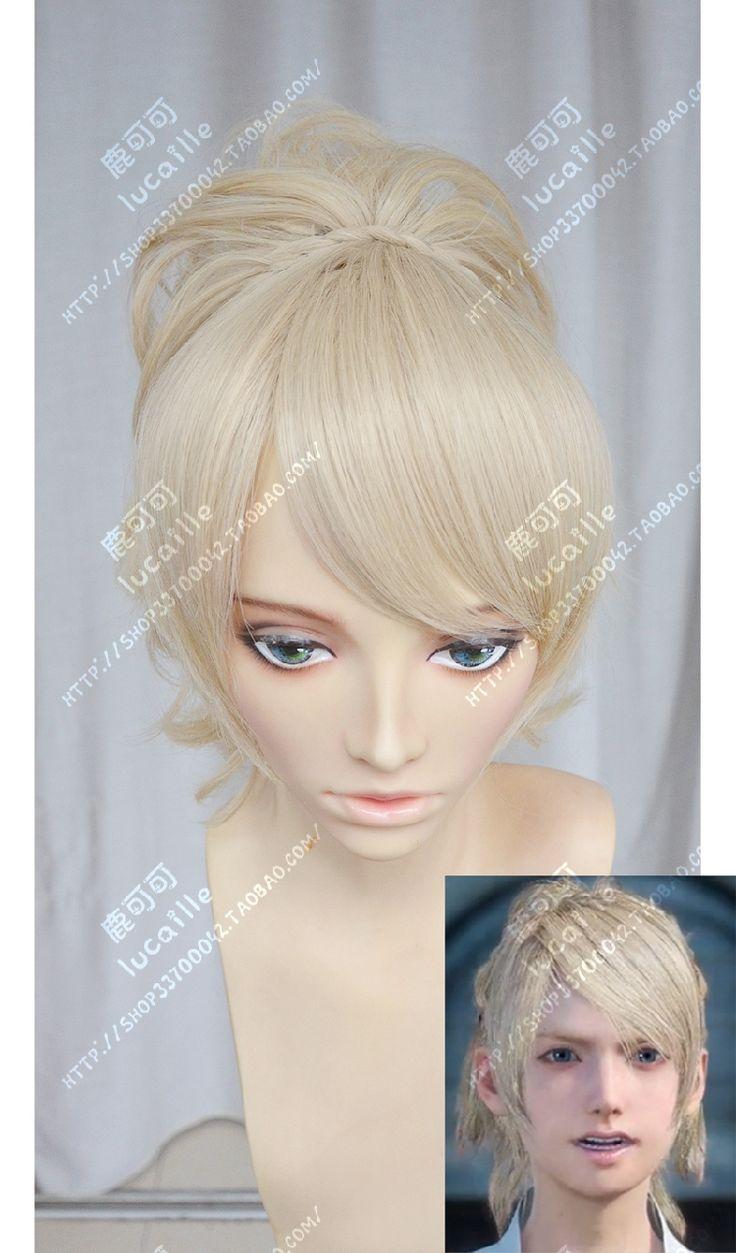 High Quality Final Fantasy XV Lunafreya Nox Fleuret Princess Luna Cosplay Wig Synthetic Hair