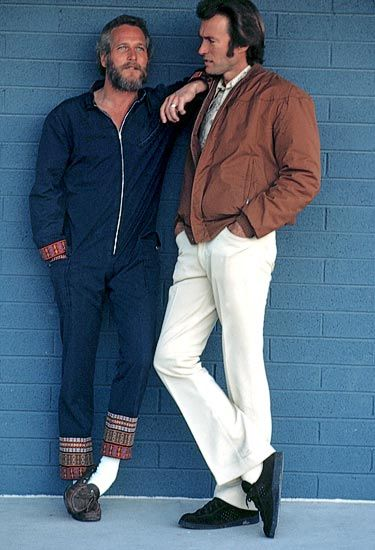 Paul Newman & Clint Eastwood... my mom liked paul...my sister has had a crush on clint since the '60's