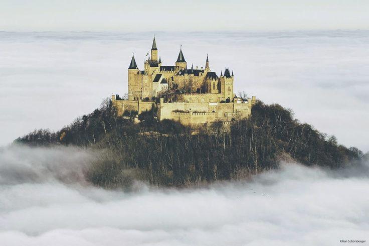 Castle in Clouds by Kilian Schönberger on 500px