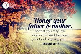 Sermon: Honour thy father and mother (With images) | Love your ... biblical parenting