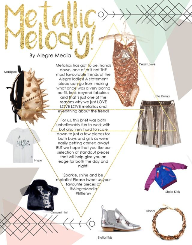 Check out our Metallic Melody  fashion feature in the latest issue of The Little Revolution Magazine http://www.thelittlerevolution.co.uk/