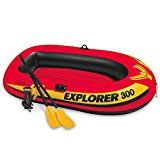 Intex Explorer 300, 3-Person Inflatable Boat Set with French Oars and High Output Air Pump by Intex  (137)Buy new:  $  47.99  $  29.62 19 used & new from $  29.41(Visit the Best Sellers in Sports & Outdoors list for authoritative information on this product's current rank.) Amazon.com: Best Sellers in Sports & Outdoors...