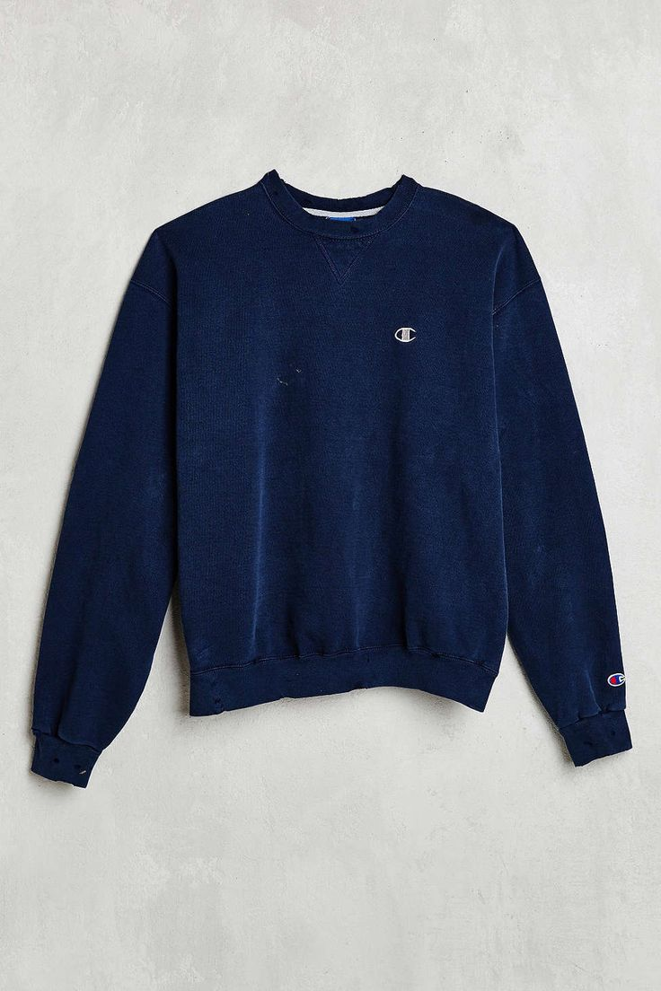 Vintage Champion Blue Sweatshirt