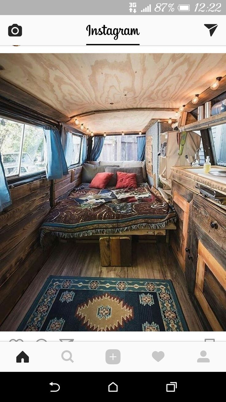 Beautiful Camper Van Conversion Van Life And Campervan