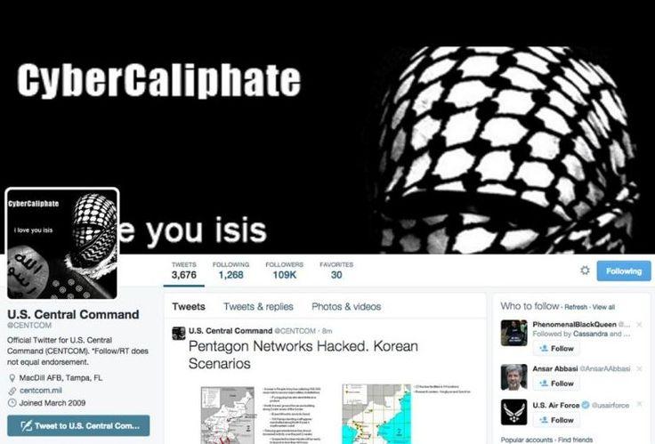 """El Estado Islámico ataca la web del Pentágono: """"Sabemos todo sobre vuestros hijos"""""""