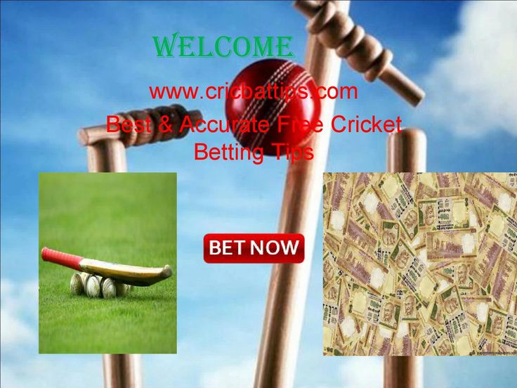Best free cricket betting tips and live cricket score online.  Best free cricket betting tips and live cricket score online. you can find accurate bet tips from cricket experts. We cover all ICC Cricket update and predictions for upcoming matches and tours.for more detail please click :- http://cricbattips.com
