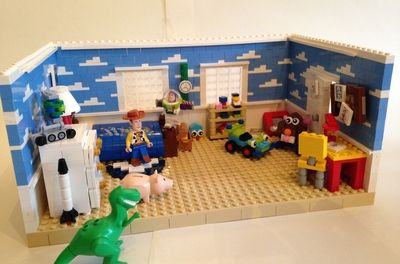 "Toy Story - ""To infinity and beyond"" #lego"