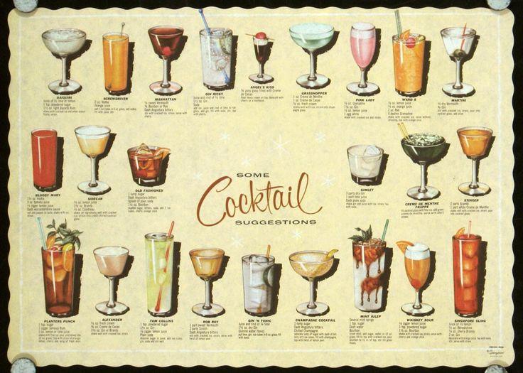 Cocktails Vintage 7