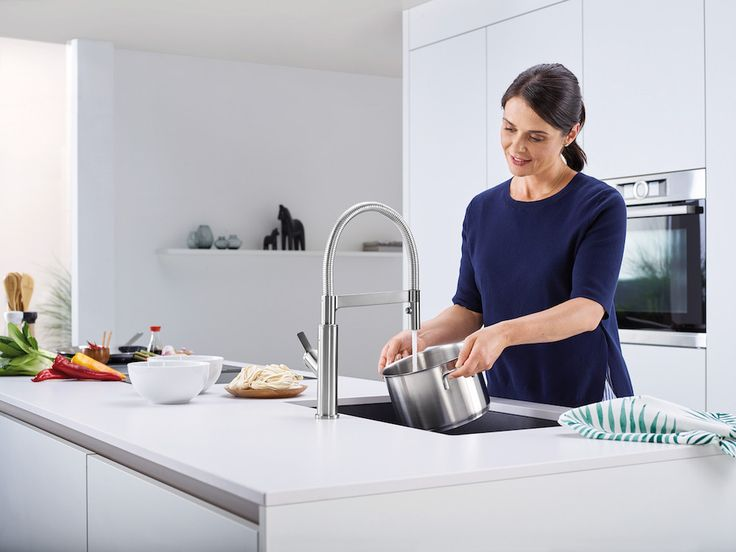 Blanco SOLENTA-S Senso contactloze keukenkraan