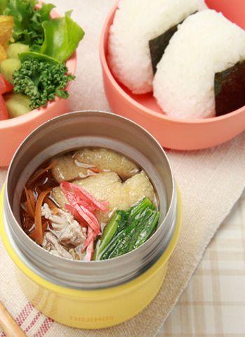 【豚汁】 おにぎりと一緒に頂きたい豚汁♪彩りのいい野菜をたっぷり使った和食派の方におすすめレシピ。