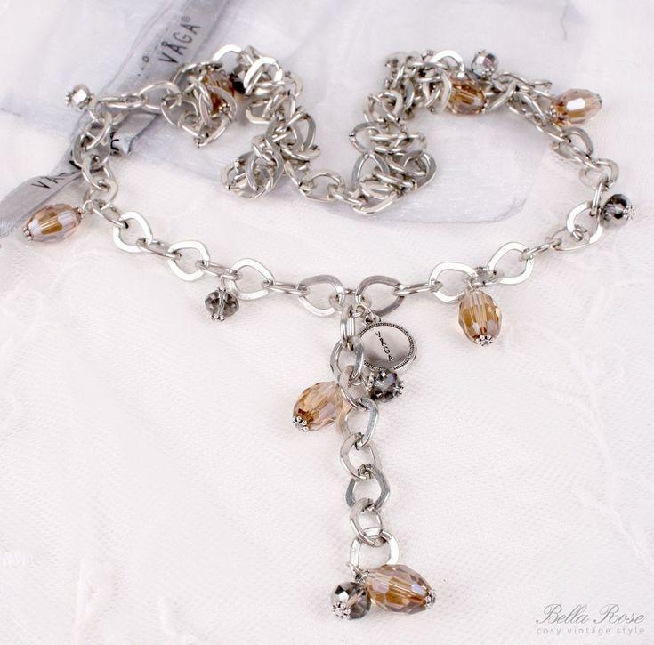 Náhrdelník Crystal - powden | Bella Rose