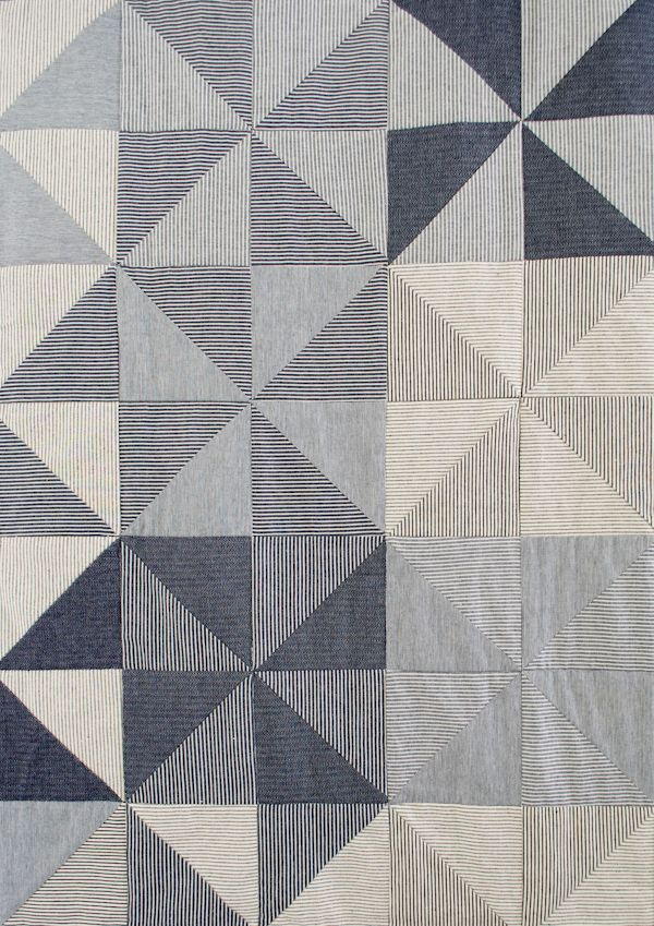 Corinne's Thread: Denim Pinwheel Quilt - The Purl Bee - Knitting Crochet Sewing Embroidery Crafts Patterns and Ideas!
