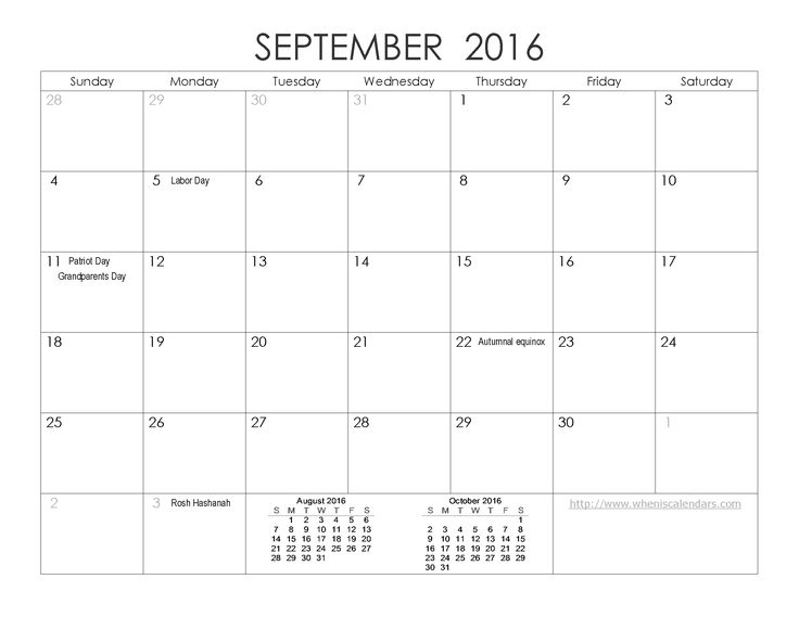 Best September Month Images On   Calendar Templates