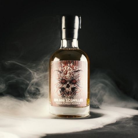500,000 Scovilles Naga Chilli Vodka: the world's hottest vodka | 15 Totally Bizarre Kinds Of Booze You Can Actually Buy