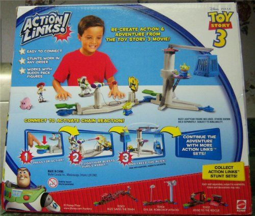 Toy Story 3 Space Ranger Training Center Exclusive Action Links Playset @ niftywarehouse.com #NiftyWarehouse #Toy #Story #Movie #ToyStory #Pixar