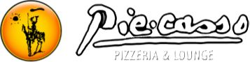 Piecasso pizza. Currently open during expansion. Best pizza in Stowe. Yum! Gluten free menu options.