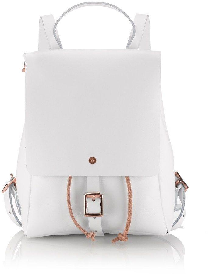 Alfie Douglas White Alfie Two Mini Backpack on shopstyle.co.uk