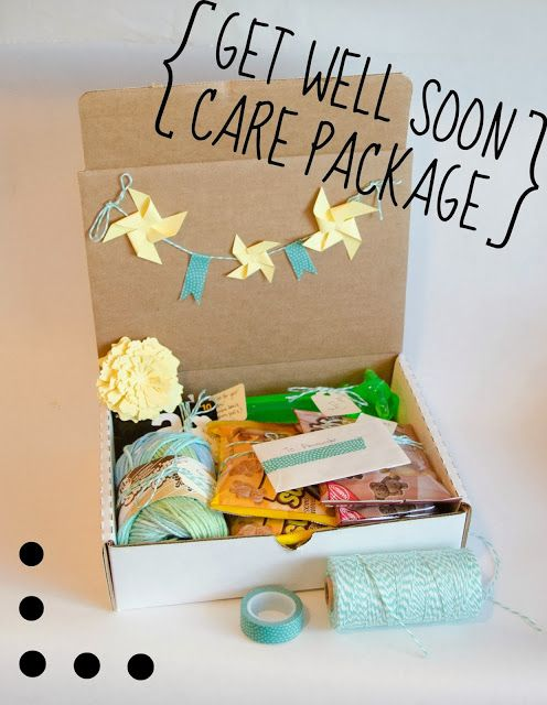 A 'Don't Go Crazy While Getting Better' Activity Care Package - Get Well Soon | these little loves blog