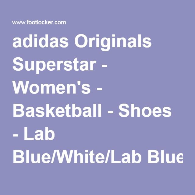 adidas Originals Superstar - Women's - Basketball - Shoes - Lab Blue/White/Lab Blue