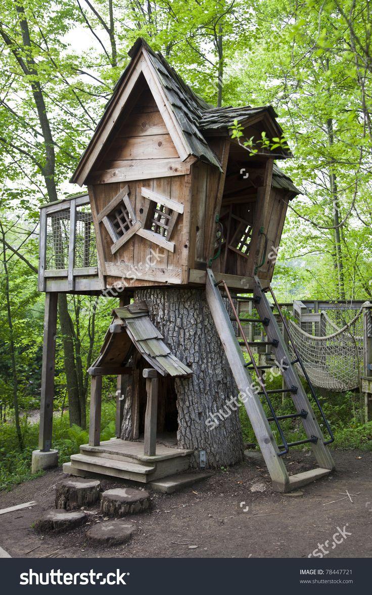 Fantasy treehouse in Inniswood Gardens in Columbus, Ohio ...