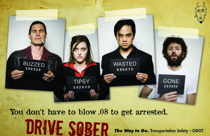 You don't have to blow .08 to get arrested, by the Oregon Department of Transportation, Transportation Safety Division