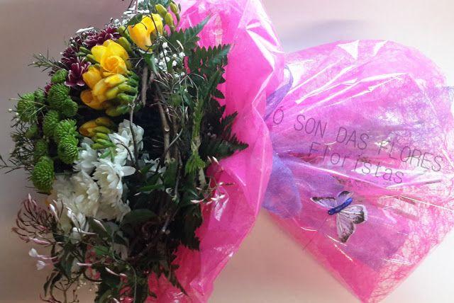 Ó son das flores: Ramos llenos de luz y delicadeza para este día tan...