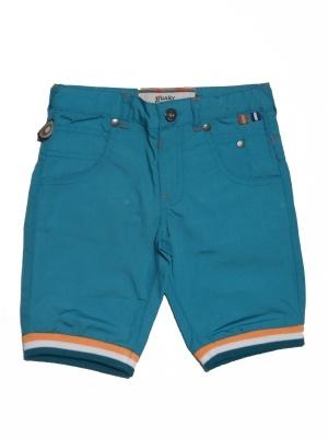 stoere korte kinder broek voor jongens aqua, 4FunkyFlavours