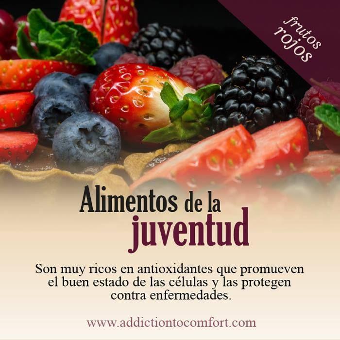 Alimentos de la juventud beneficios pinterest - Alimentos que suben la tension ...
