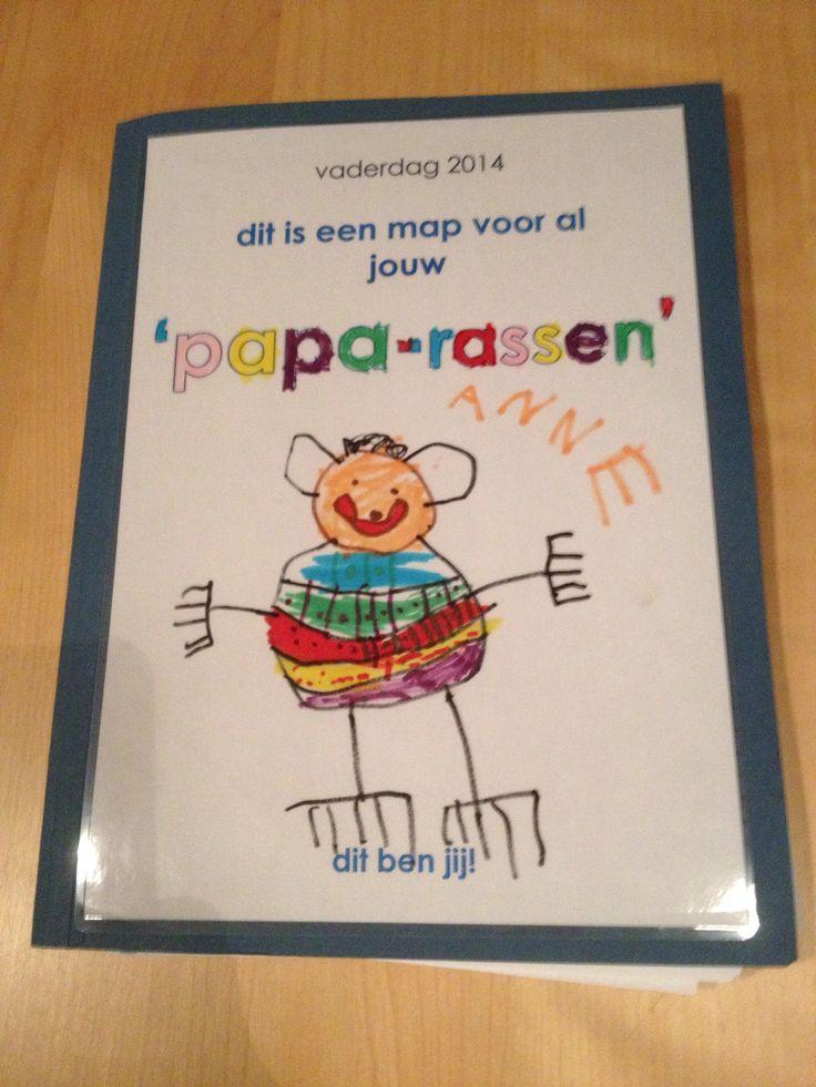 Een map voor papa's Papa-rassen!