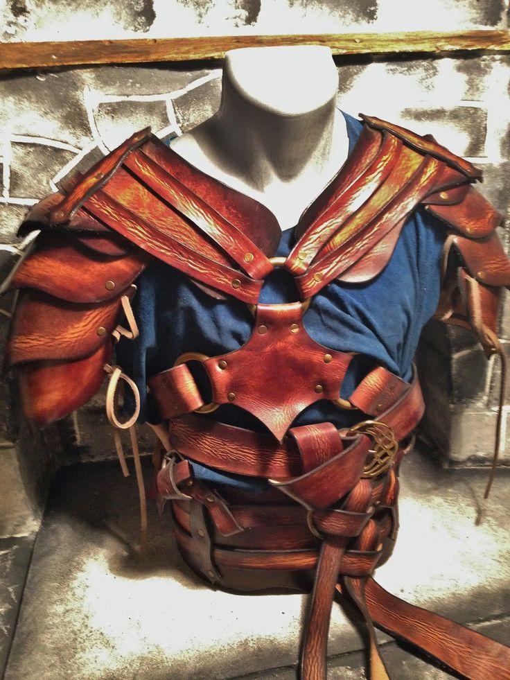 Armure medieval fantastique en cuir de vache tannage for Miroir des modes 427