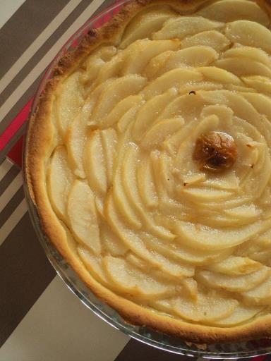 Tarte aux poires vegan - Recette de cuisine Marmiton : une recette