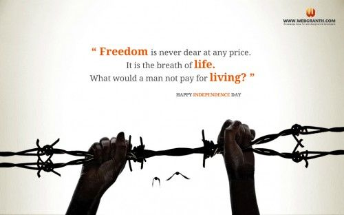 independence day freedom 15 august 2014 quotes pictures 500x312 independence day india HD wallpapers 2014