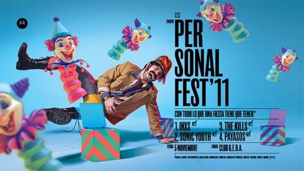 Personal Fest '11 by Plenty , via Behance