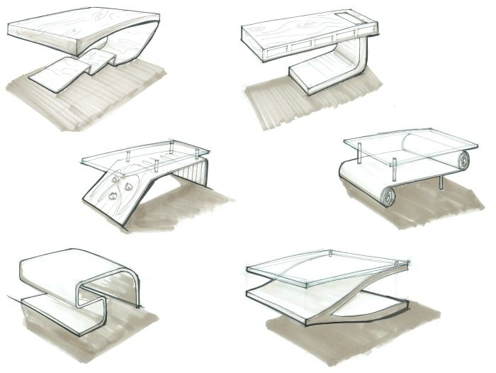 38 best furniture sketches images on pinterest product for Furniture design sketches