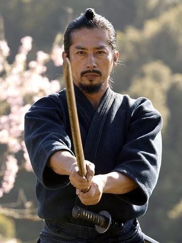 "Hiroyuki Sanada - Ujio in ""The Last Samurai"""