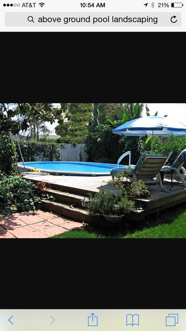why bury an agp above ground pools trouble free pool buried above ground  pools