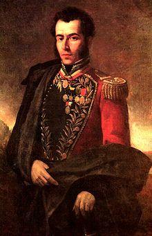 """Antonio Jose de Sucre y Alcala """"Gran Mariscal de Ayacucho"""" (1795-1830) 2nd President of Bolivia"""
